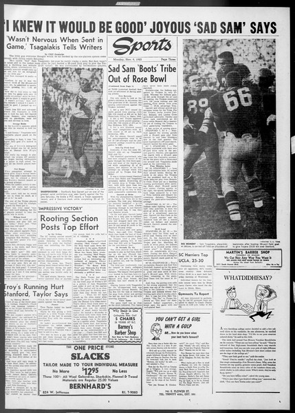 Daily Trojan, Vol. 45, No. 35, November 09, 1953