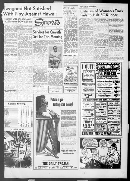Daily Trojan, Vol. 45, No. 59, December 15, 1953