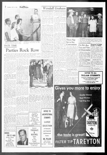 Daily Trojan, Vol. 48, No. 10, October 04, 1956