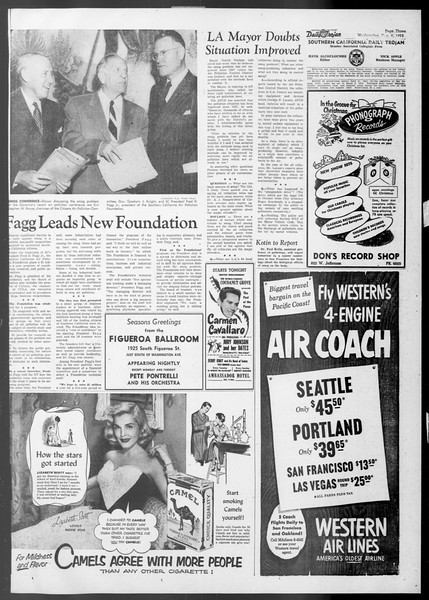 Daily Trojan, Vol. 45, No. 55, December 09, 1953