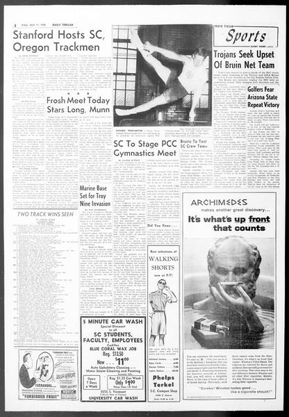 Daily Trojan, Vol. 50, No. 108, April 17, 1959