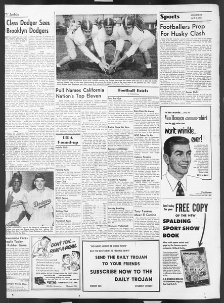 Daily Trojan, Vol. 43, No. 13, October 03, 1951