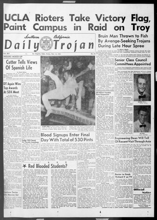 Daily Trojan, Vol. 45, No. 39, November 13, 1953