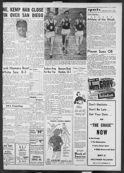 Daily Trojan, Vol. 42, No. 121, May 02, 1951