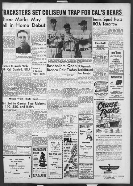 Daily Trojan, Vol. 42, No. 108, April 13, 1951