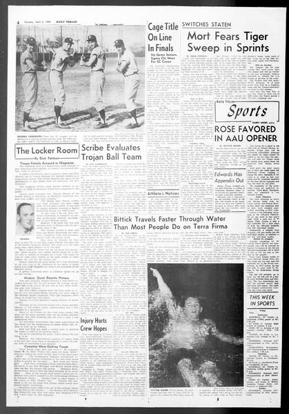 Daily Trojan, Vol. 50, No. 97, April 02, 1959