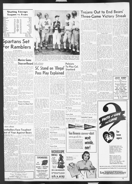 Daily Trojan, Vol. 43, No. 25, October 19, 1951