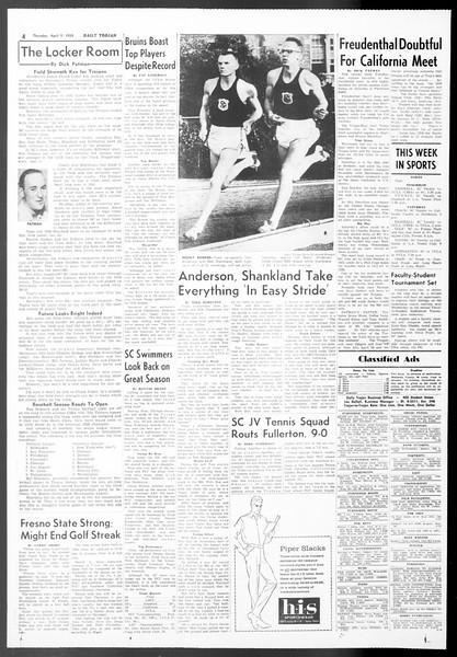 Daily Trojan, Vol. 50, No. 102, April 09, 1959
