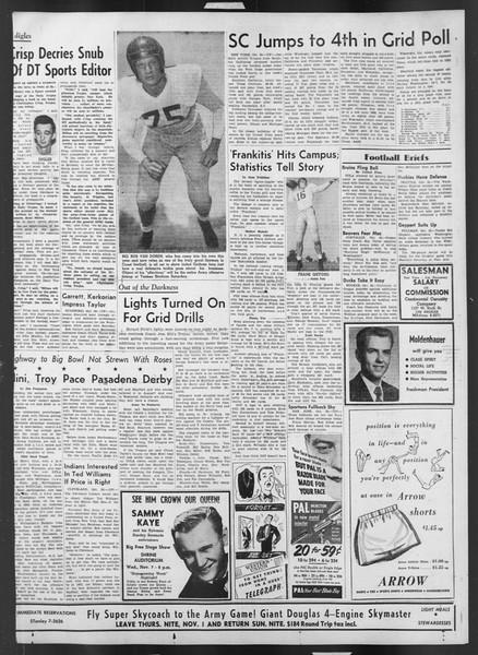 Daily Trojan, Vol. 43, No. 32, October 31, 1951