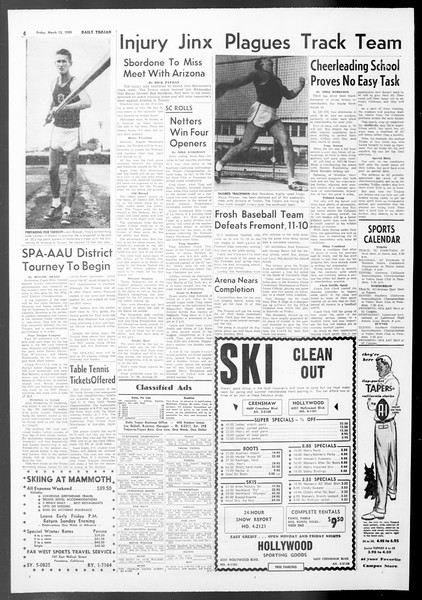 Daily Trojan, Vol. 50, No. 89, March 13, 1959