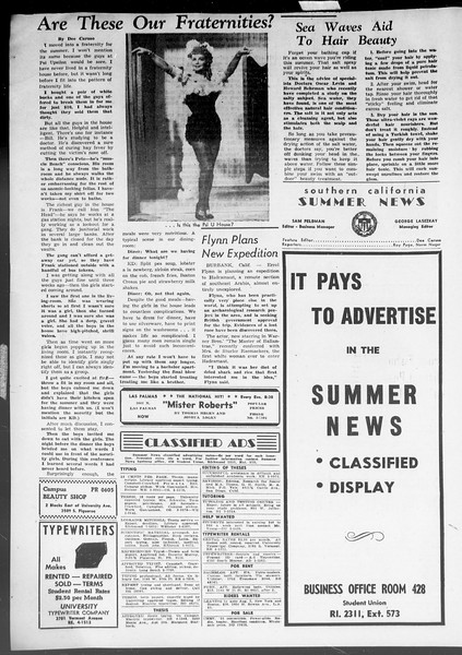 Summer News, Vol. 8, No. 6, July 10, 1953