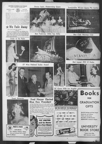 Daily Trojan, Vol. 42, No. 139, May 28, 1951
