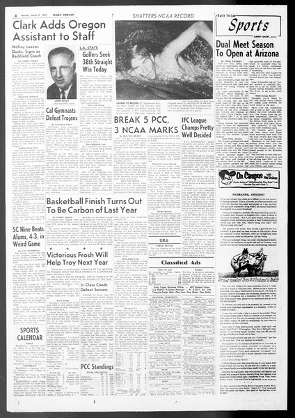 Daily Trojan, Vol. 50, No. 85, March 09, 1959