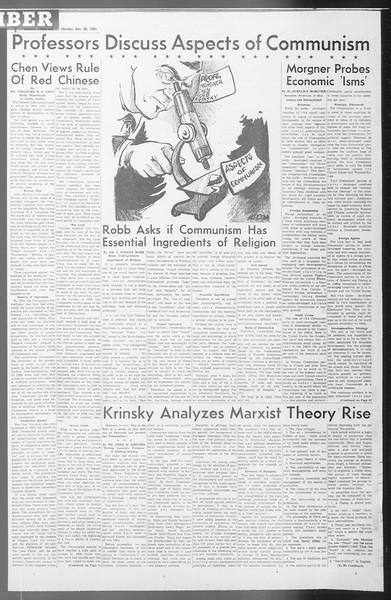 Daily Trojan, Vol. 53, No. 45, November 20, 1961