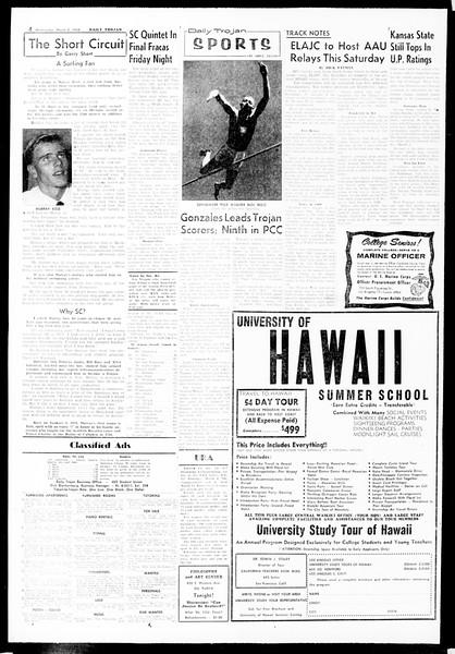 Daily Trojan, Vol. 49, No. 79, March 05, 1958