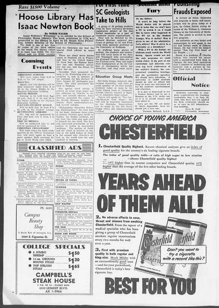 Summer News, Vol. 8, No. 3, June 29, 1953