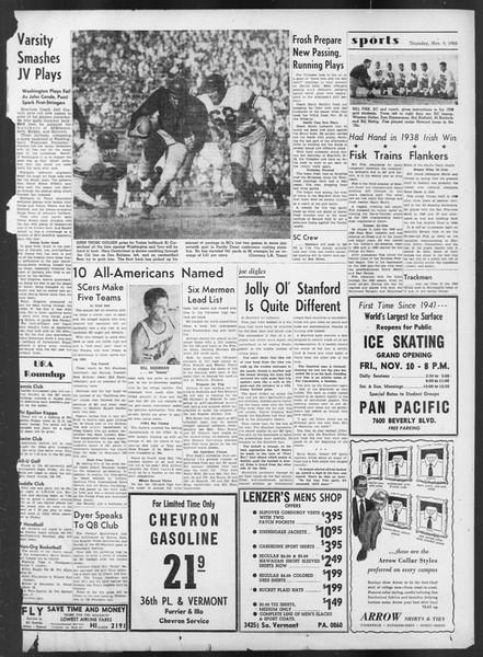 Daily Trojan, Vol. 42, No. 38, November 09, 1950