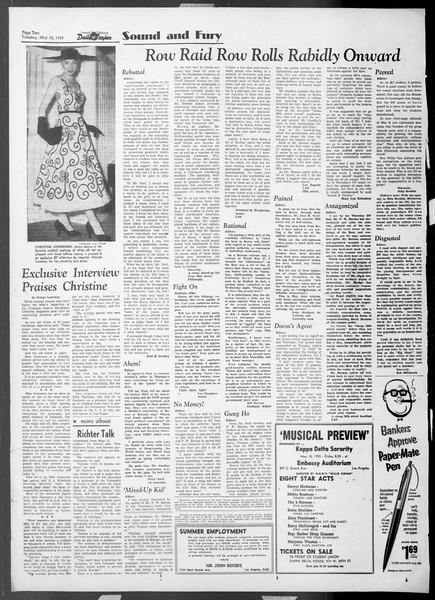 Daily Trojan, Vol. 44, No. 130, May 12, 1953