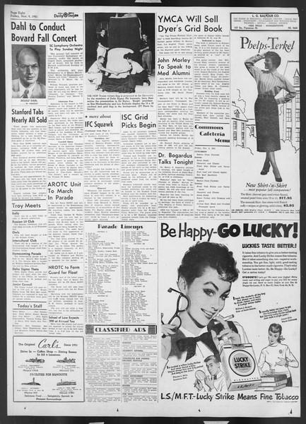 Daily Trojan, Vol. 43, No. 39, November 09, 1951