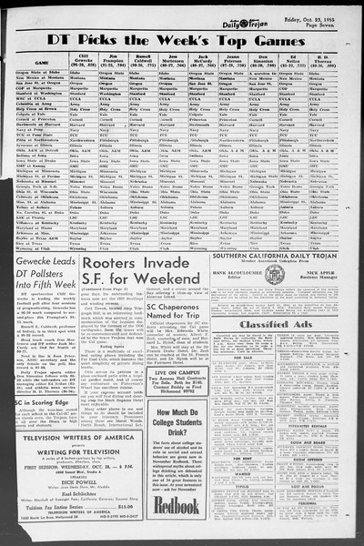 Daily Trojan, Vol. 45, No. 25, October 23, 1953