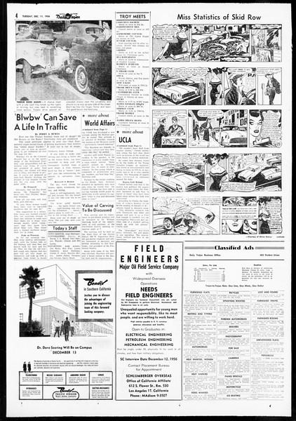 Daily Trojan, Vol. 48, No. 56, December 11, 1956