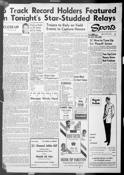 Daily Trojan, Vol. 44, No. 138, May 22, 1953