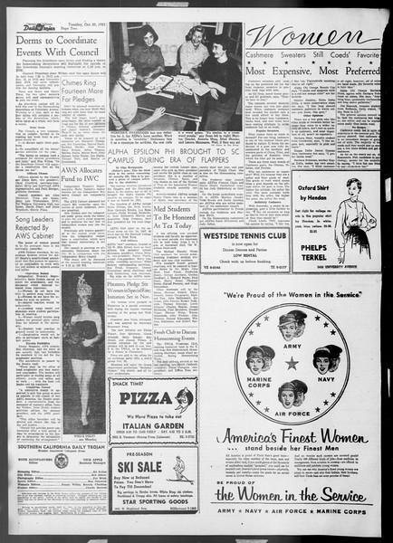 Daily Trojan, Vol. 45, No. 22, October 20, 1953