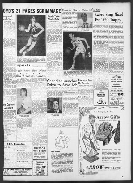 Daily Trojan, Vol. 42, No. 61, December 14, 1950