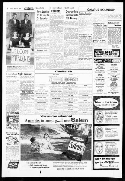 Daily Trojan, Vol. 48, No. 94, March 15, 1957