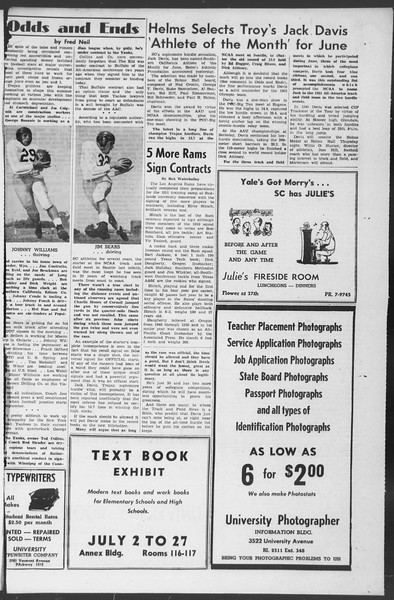 Summer News, Vol. 6, No. 7, July 17, 1951