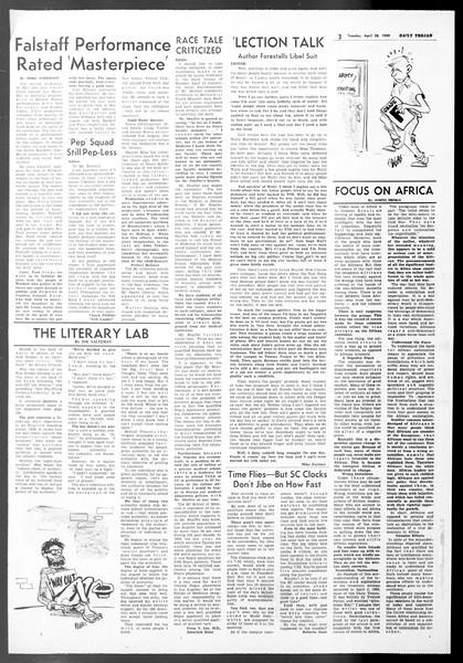 Daily Trojan, Vol. 50, No. 114, April 28, 1959