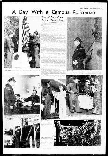 Daily Trojan, Vol. 49, No. 44, November 22, 1957