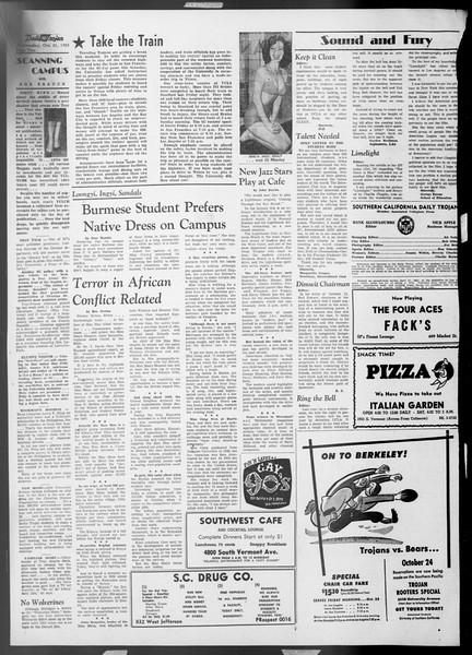 Daily Trojan, Vol. 45, No. 23, October 21, 1953