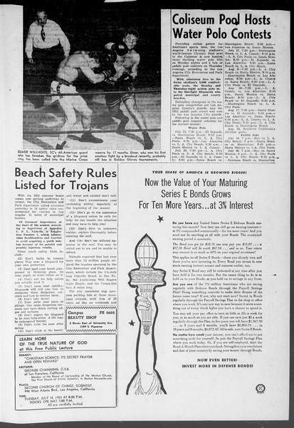 Summer News, Vol. 8, No. 7, July 13, 1953