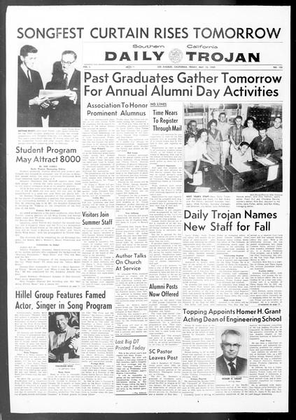 Daily Trojan, Vol. 50, No. 125, May 15, 1959