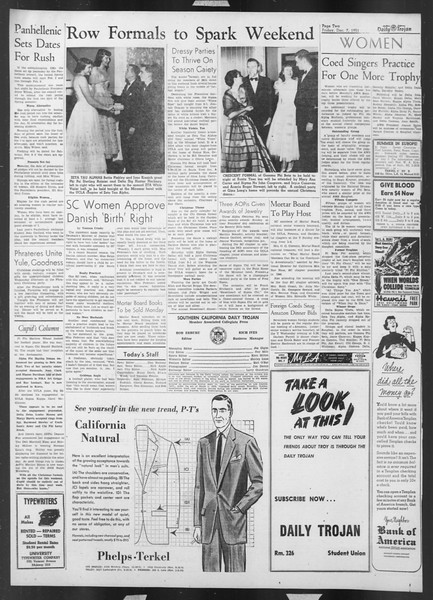 Daily Trojan, Vol. 43, No. 57, December 07, 1951