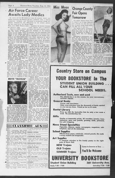 Summer News, Vol. 6, No. 15, August 14, 1951
