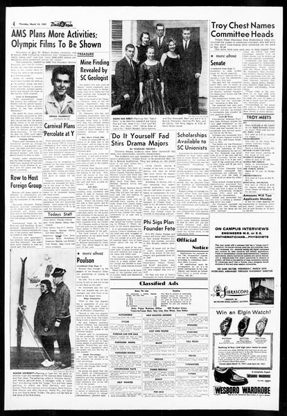 Daily Trojan, Vol. 48, No. 93, March 14, 1957