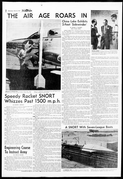 Daily Trojan, Vol. 48, No. 87, March 06, 1957