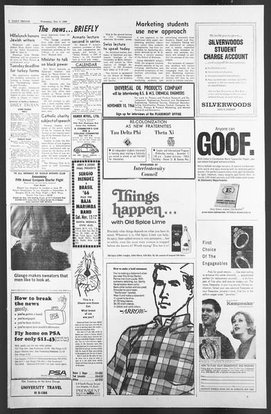 Daily Trojan, Vol. 58, No. 37, November 09, 1966