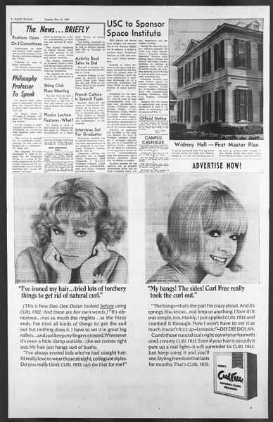 Daily Trojan, Vol. 58, No. 75, February 21, 1967
