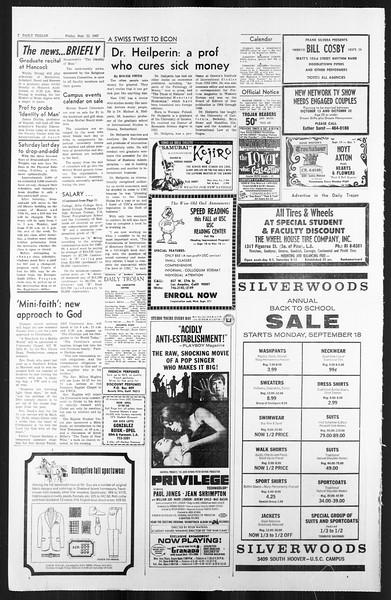 Daily Trojan, Vol. 59, No. 5, September 22, 1967
