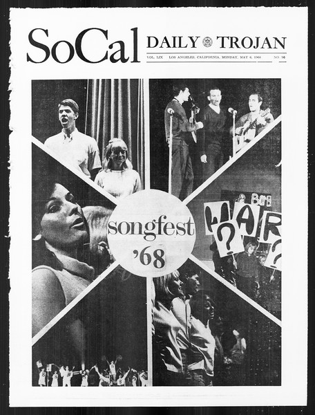 SoCal, Vol. 59, No. 119, May 06, 1968