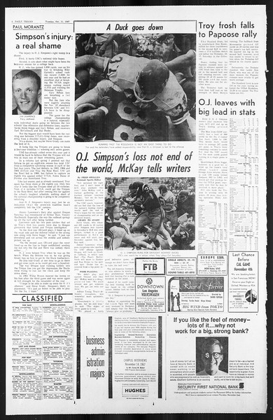 Daily Trojan, Vol. 59, No. 31, October 31, 1967