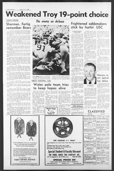 Daily Trojan, Vol. 58, No. 34, November 04, 1966