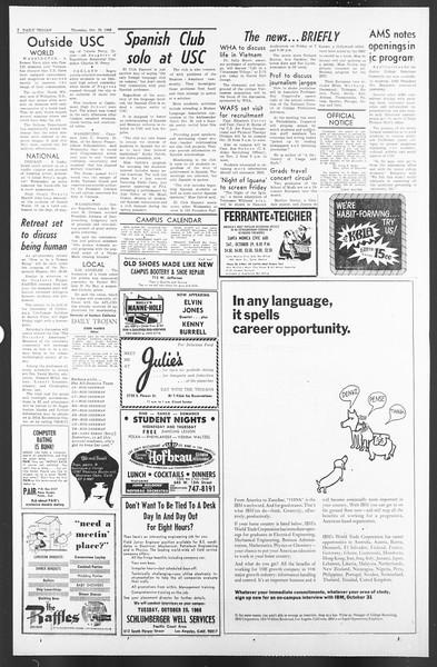 Daily Trojan, Vol. 58, No. 23, October 20, 1966