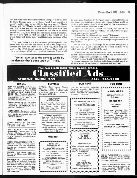 SoCal, Vol. 60, No. 116, May 05, 1969
