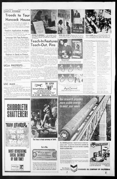 Daily Trojan, Vol. 57, No. 41, November 16, 1965