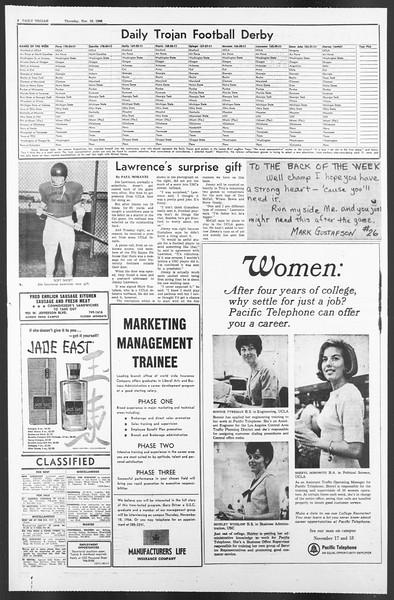 Daily Trojan, Vol. 58, No. 38, November 10, 1966
