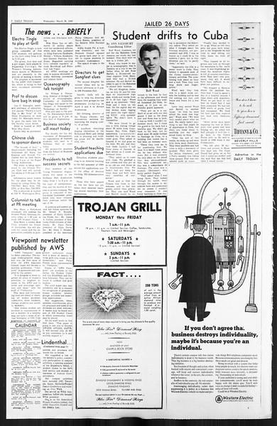 Daily Trojan, Vol. 59, No. 94, March 20, 1968